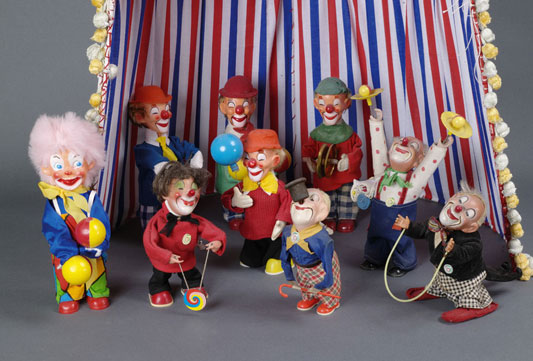 Quelques clowns de la maison Carl