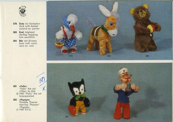 ABC Jouets » Le lapin chasseur de la firme Carl